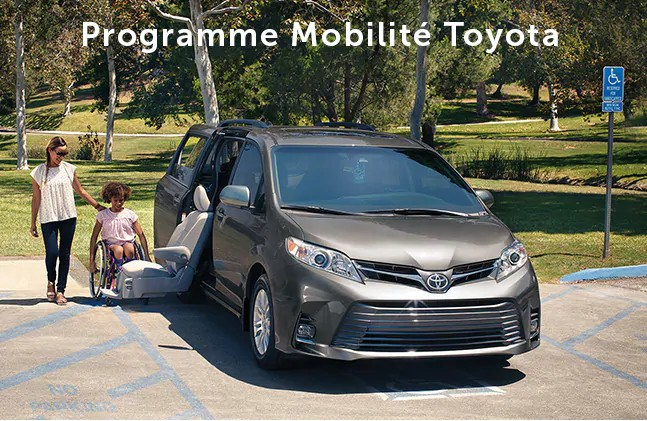 St-Hubert Toyota 2020 Sienna Programme Mobile