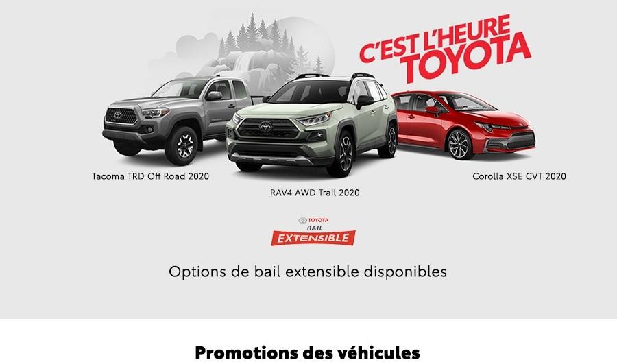 St-Hubert Toyota Heure Toyota Novembre 2019