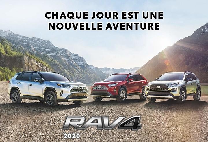 St-Hubert Toyota RAV4 2020 Nouvelle Aventure