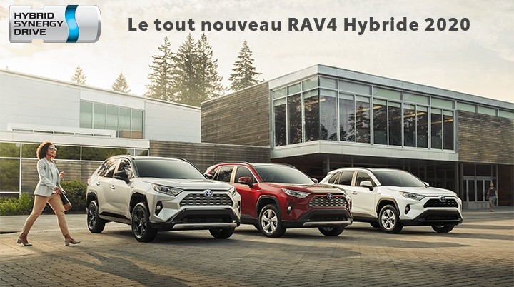 St-Hubert Toyota RAV4 2020 Hybride