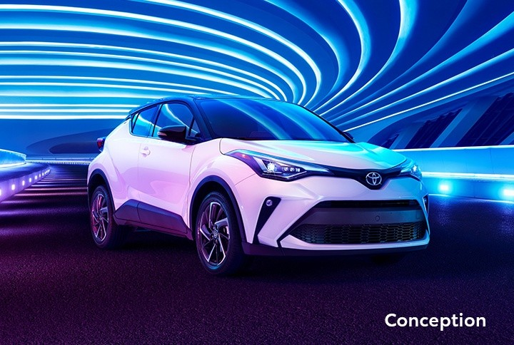 St-Hubert Toyota C-HR 2020 Conception