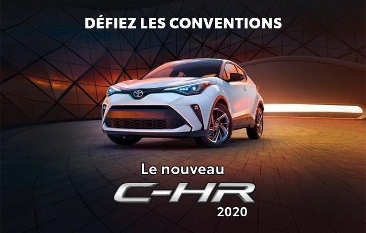 St-Hubert Toyota C-HR 2020 Défiez Les Conventions