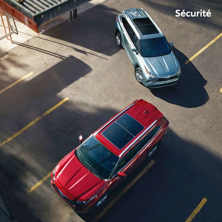 St-Hubert Toyota Highlander 2020 Sécurité