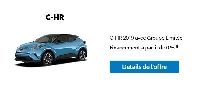 St-Hubert Toyota Promotion Janvier 2020 C-HR 2019