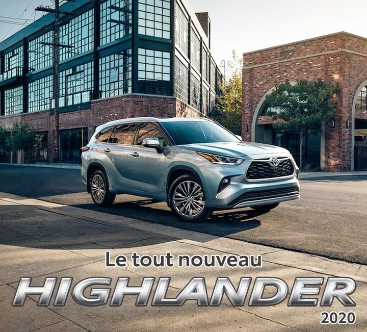 St-Hubert Toyota Tout Nouveau Highlander 2020