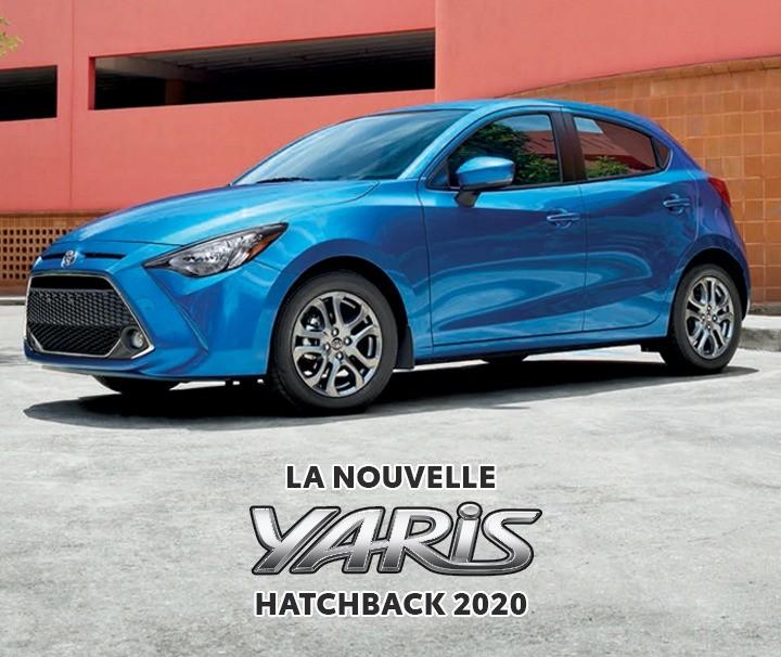 St-Hubert Toyota La Nouvelle Yaris Hatchback 2020