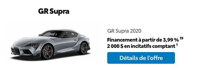 St-Hubert Toyota Promotion Mars 2020 GR Supra 2020