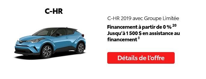 St-Hubert Toyota Promotion Mai 2020 C-HR 2019