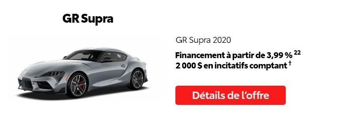 St-Hubert Toyota Promotion Mai 2020 GR Supra 2020