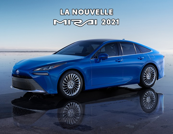 St-Hubert Toyota Toute Nouvelle Mirai 2021