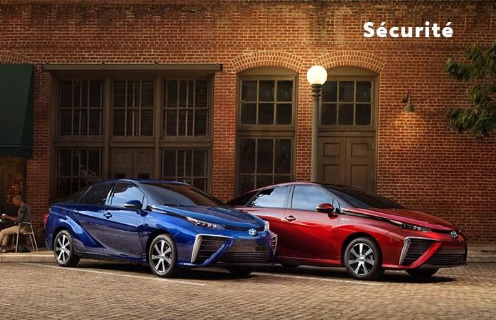 St-Hubert Toyota Mirai 2021 Sécurité