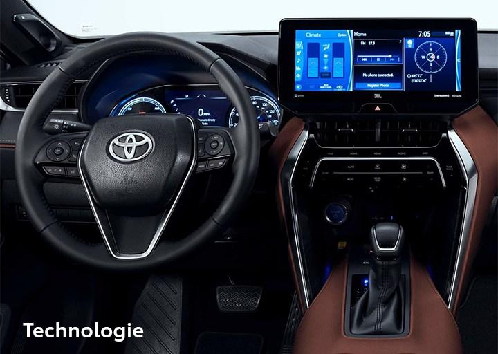 St-Hubert Toyota Venza 2021 Technologie