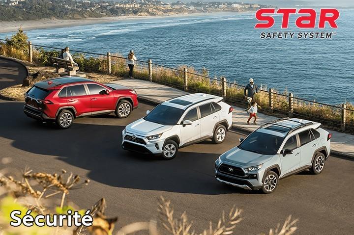 St-Hubert Toyota RAV4 2021 Sécurité