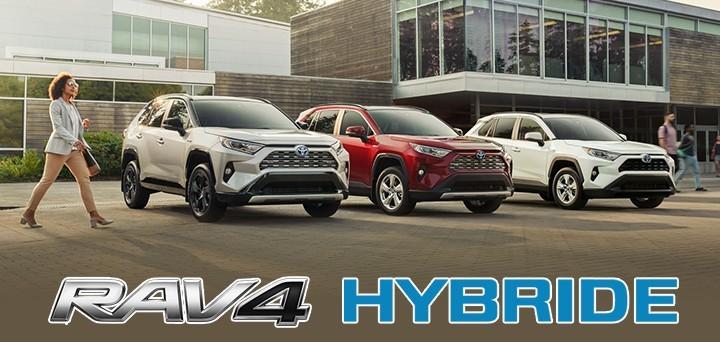 St-Hubert Toyota RAV4 Hybride 2021