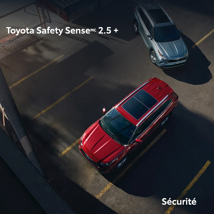St-Hubert Toyota Highlander 2021 Sécurité