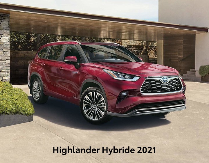 St-Hubert Toyota Highlander Hybride 2021