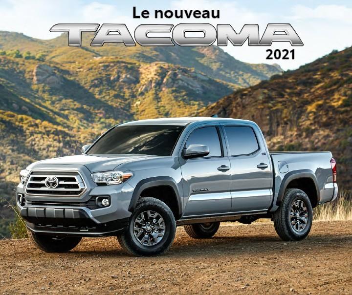 St-Hubert Toyota Le nouveau Tacoma 2021