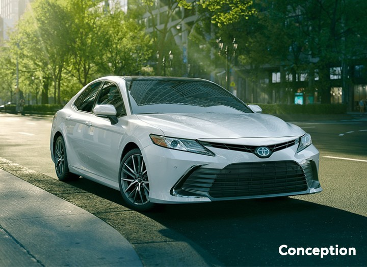 St-Hubert Toyota Camry 2021 Conception