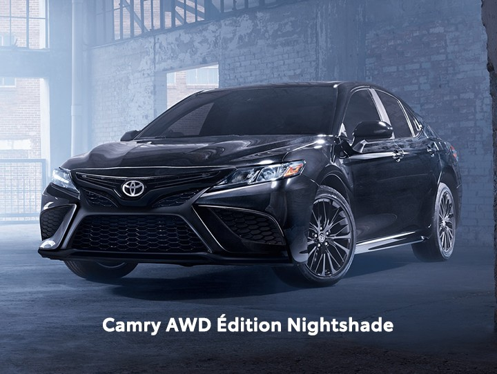 St-Hubert Toyota Camry AWD Édition Nightshade 2021