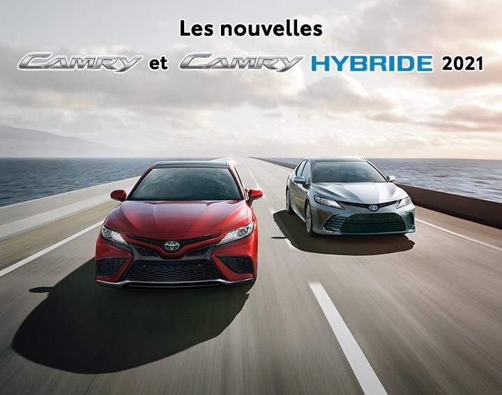 St-Hubert Toyota Les nouvelles Camry et Camry Hybride 2021