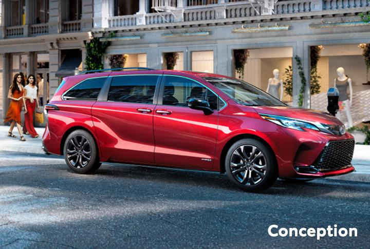 St-Hubert Toyota Sienna 2021 Conception